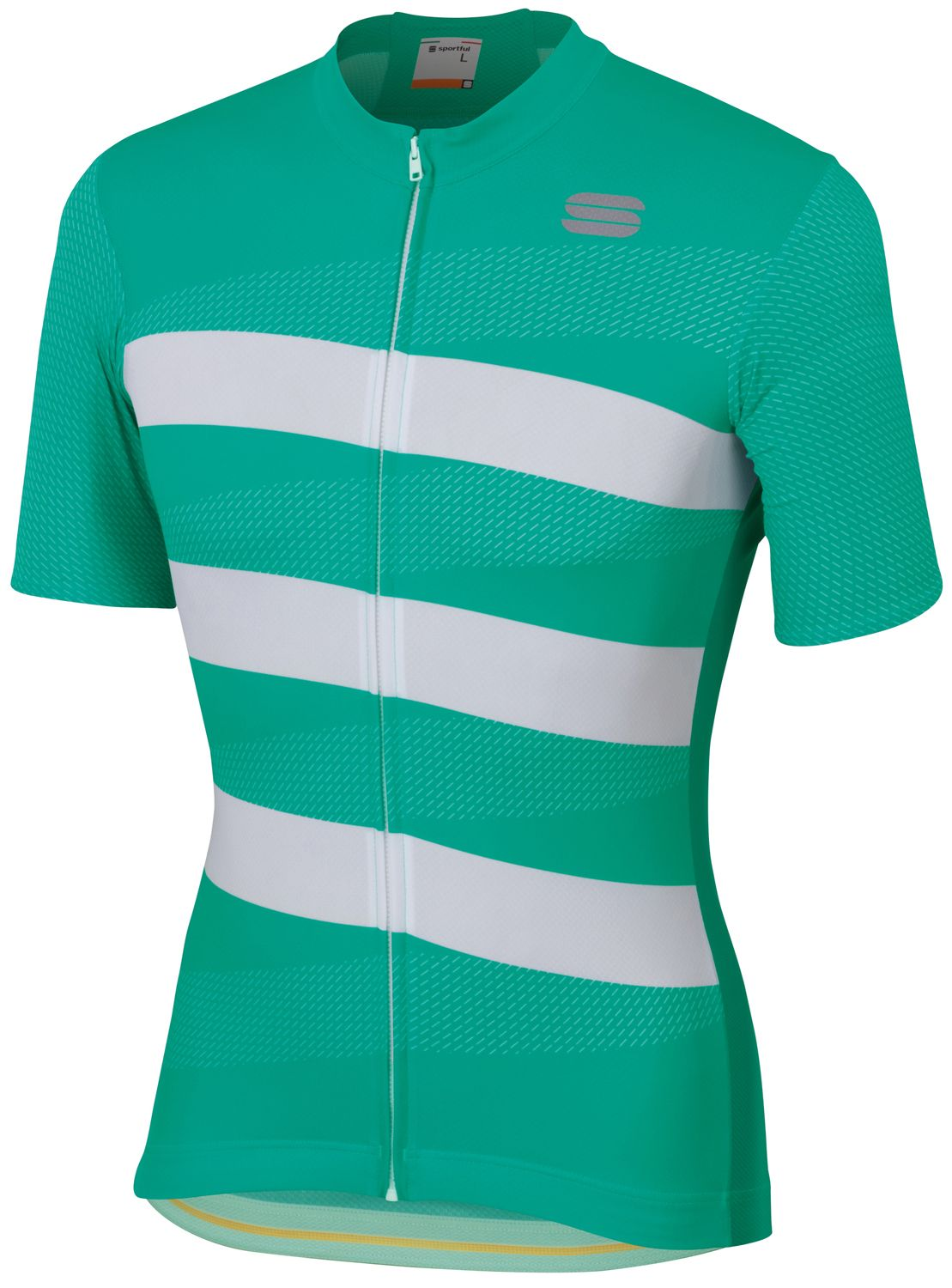 Sportful TEAM 2.0 RIBBON short sleeve cycling jersey green white. Previous 92df7db84