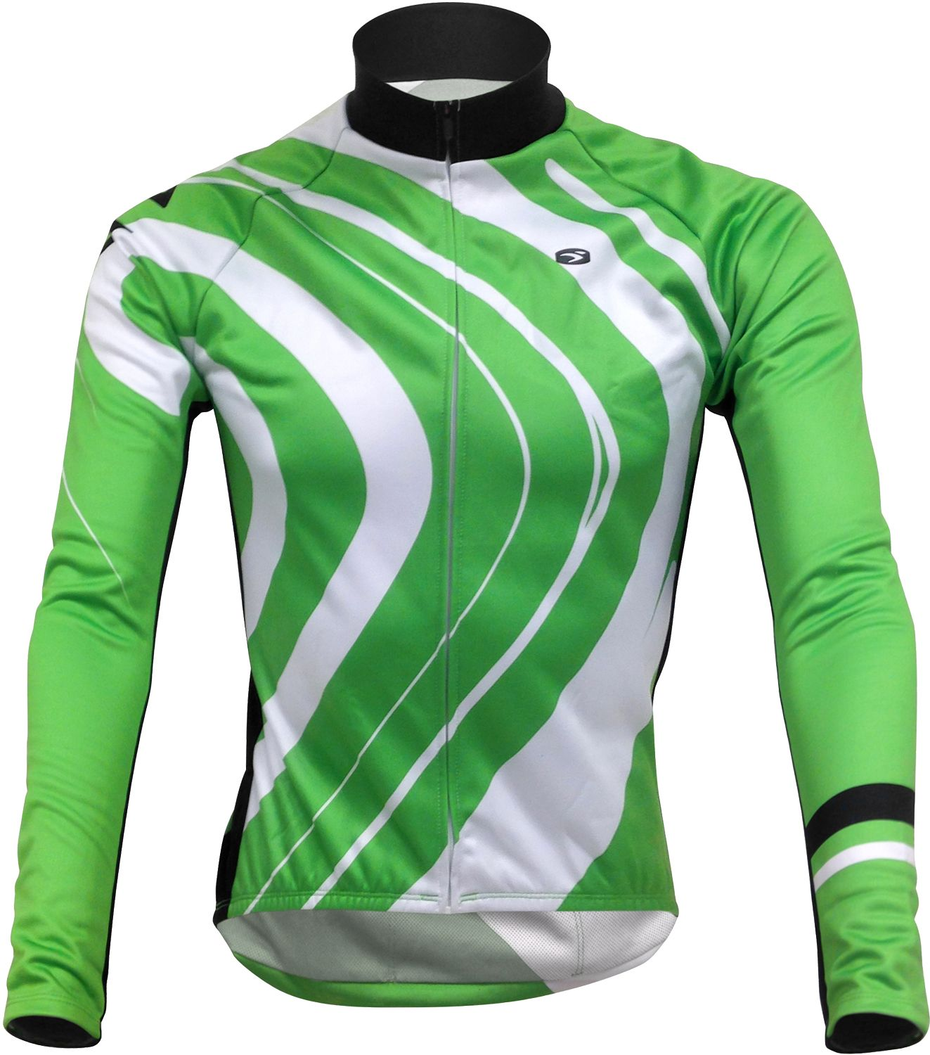 b276a1485 Cannondale EVOLUTION PRO ZAP long sleeve cycling jersey green by Sugoi.  Previous