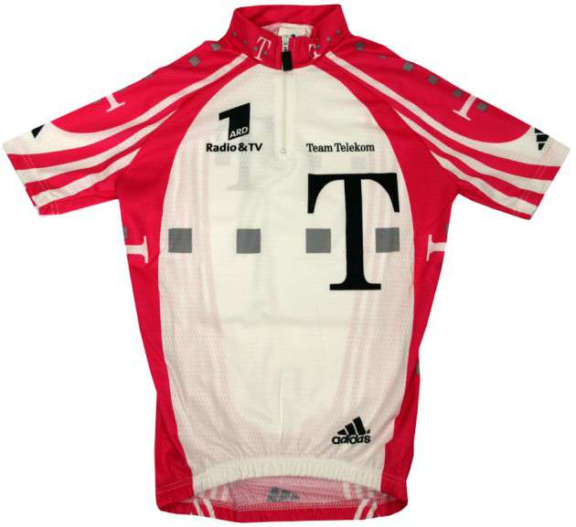 ADIDAS Telekom professional cycling team - cycling jersey for kids 4c3370835
