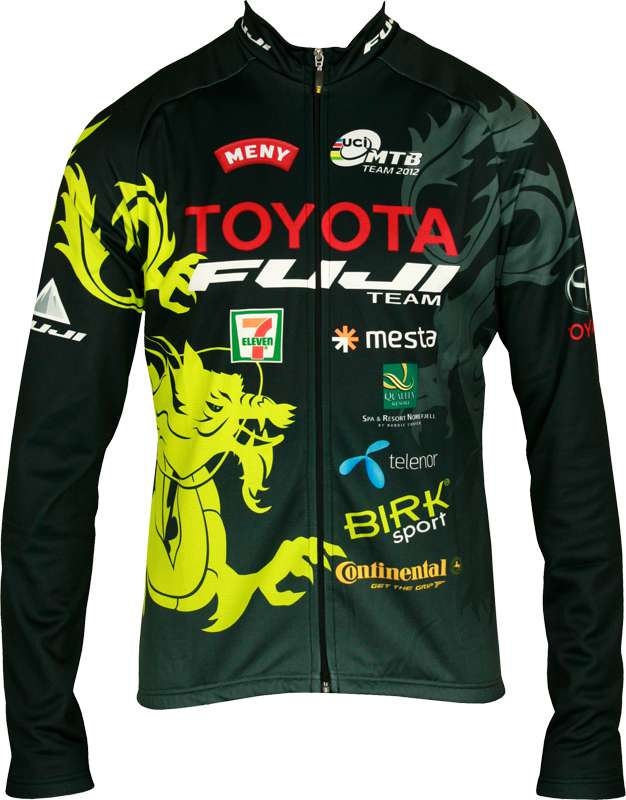 INVERSE Cycling long sleeve jersey TOYOTA-FUJI TEAM professional cycling  team 76fab44f6