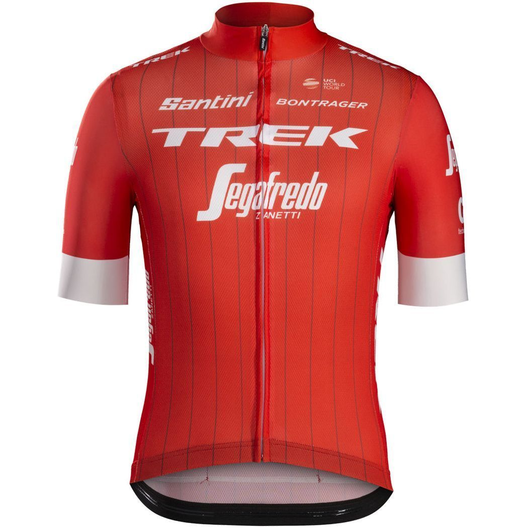 df6647bbc Previous. TREK - SEGAFREDO 2018 short sleeve cycling jersey (long zip) -  Santini professional cycling