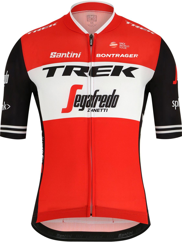 a5a5c337b Previous. TREK - SEGAFREDO 2019 short sleeve cycling jersey (long zip) -  Santini professional cycling