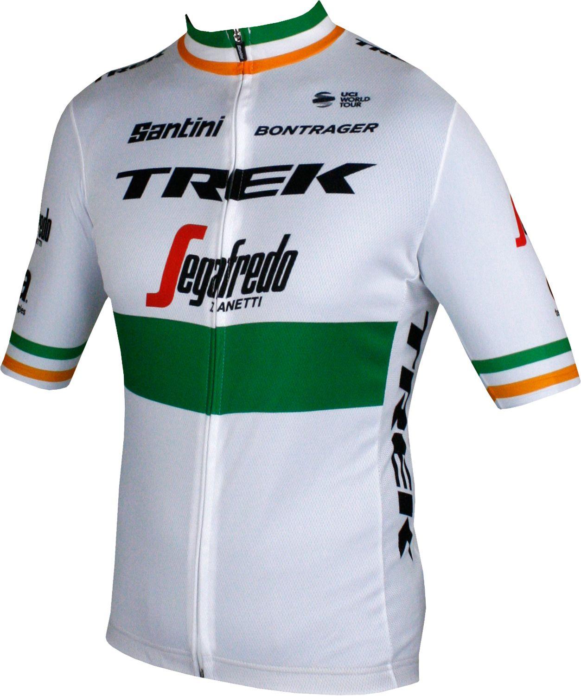 TREK - SEGAFREDO irish champion 2018 19 short sleeve cycling jersey (long  zip). Previous 45e232051