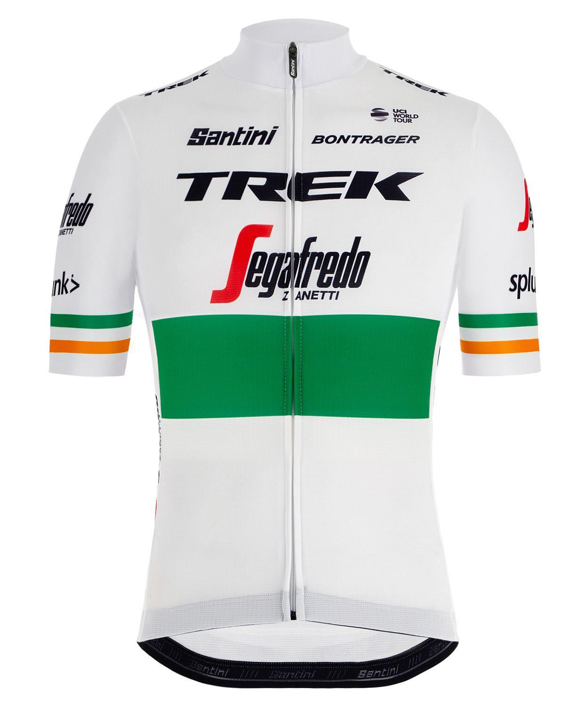 TREK - SEGAFREDO irish champion 2019 short sleeve cycling jersey (long zip)  - Santini. Previous 34dc4523f