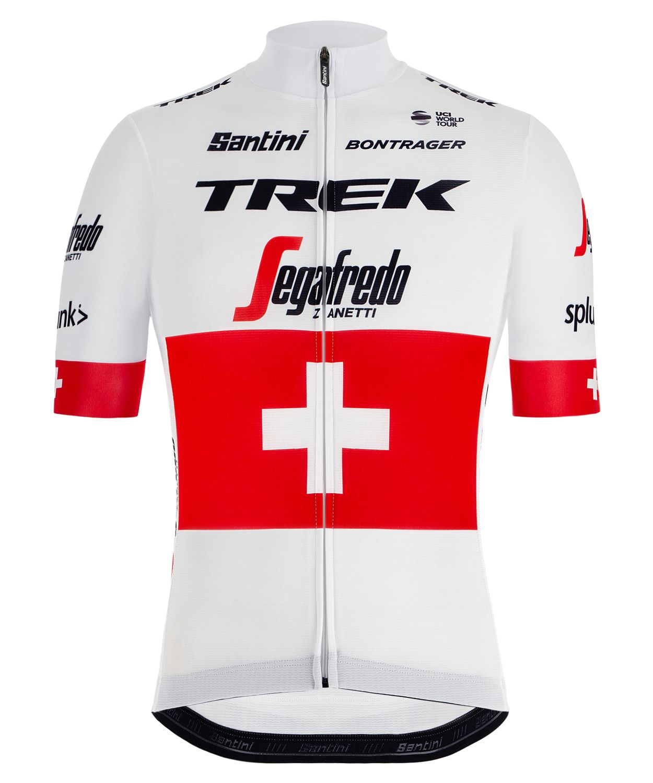 efd0fef88 TREK - SEGAFREDO swiss champion 2019 short sleeve cycling jersey (long zip)  - Santini. Previous