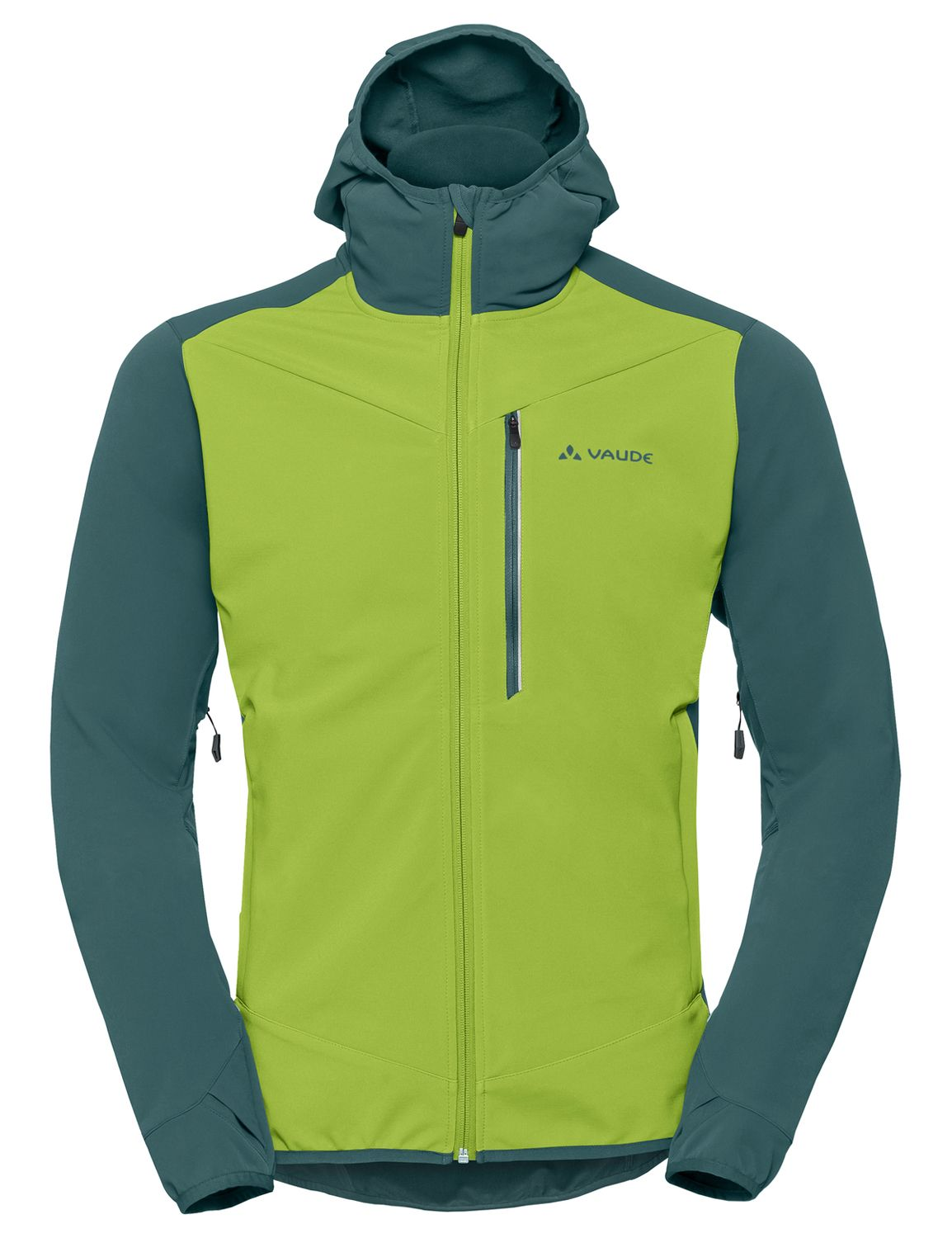 official photos a64ed 7d98c LARICE III softshell jacket chute green