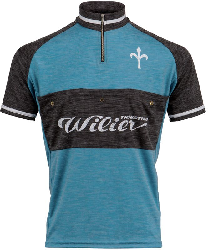 6c925ac66 Wilier TASCA short sleeve cycling jersey blue gray (WL231). Previous