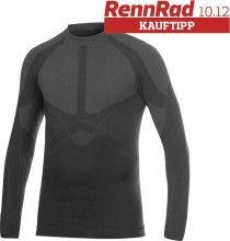 CRAFT Keep Warm Crewneck Langarm-Unterhemd schwarz