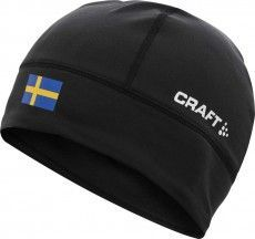Craft Muetze lioght thermal hat Schweden schwarz 1