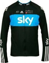 SKY 2012 PRO CYCLING Langarmtrikot - Radsport-Profi-Team