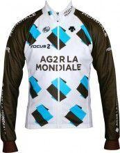 AG2R LA MONDIALE 2014 Radsport-Winterjacke - Radsport-Profi-Team