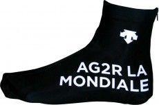 AG2R LA MONDIALE 2015 Lycra-Zeitfahr-Überschuh - Descente Radsport-Profi-Team
