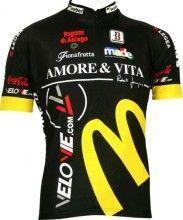 Amore & Vita Biemme Radsport-Profi-Team - Kurzarmtrikot