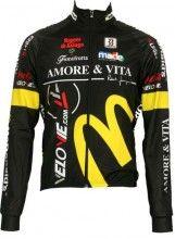 Amore & Vita Biemme Radsport-Profi-Team - Radsport-Winterjacke