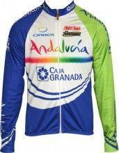ANDALUCIA - CAJA GRANADA Inverse Radsport-Profi-Team - Langarmtrikot