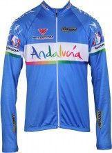 ANDALUCIA Inverse Radsport-Profi-Team - Langarmtrikot