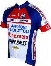 ANDRONI GIOCATTOLI - VENEZUELA 2015 Kurzarmtrikot (langer Reißverschluss) - Santini Radsport-Profi-Team