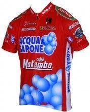 Acqua & Sapone - Tour Kurzarmtrikot (langer Reißverschluss) - Biemme Radsport-Profi-Team