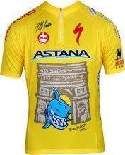 ASTANA Tour de France Sieger 2014 - Kurzarmtrikot mit kurzem Reißverschluss - MOA Radsport-Profi-Team