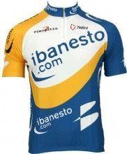 iBanesto 2003 Trikot (Kurzarmtrikot) - Nalini Radsport-Profi-Team (kurzer Reißverschluss)
