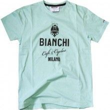 Bianchi CAFÉ & CYCLE Shirt celeste 1