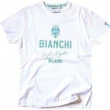 Bianchi CAFÉ & CYCLE Shirt weiß 1