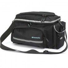 Bianchi DELUXE Gepäckträgertasche schwarz 1