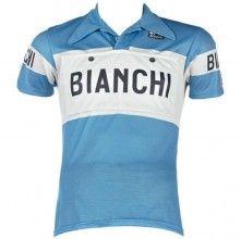 Bianchi EROICA - VINTAGE Edition Radtrikot kurzarm blau 1