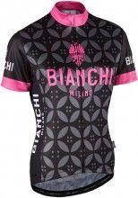Bianchi Milano Damen Kurzarmtrikot Malgina pink 4000 1