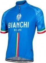 Bianchi Milano Herren Kurzarmtrikot Sado blau 1