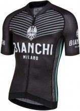 Bianchi Milano Kurzarmtrikot Ceresole schwarz 4000 1