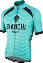 Bianchi Milano Kurzarmtrikot Meja Celeste 4300 1