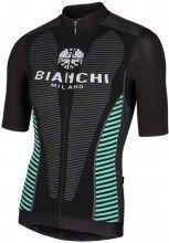 Bianchi Milano Kurzarmtrikot Tovel schwarz 4000 1