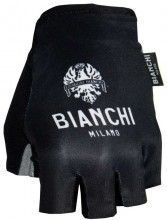 Bianchi Milano Kurzfingerhandschuhe Divor schwarz 1