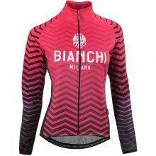 Bianchi Milano LESIMA Damen Fahrrad Winterjacke pink 1