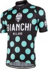 Bianchi Milano PRIDE Kurzarmtrikot schwarz/celeste 1
