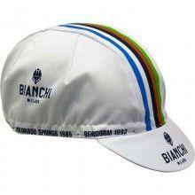 Bianchi Milano Cap Neon weiß Campione 1