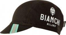 Bianchi Milano Winter-Schirmmütze PRESEZZO schwarz 1