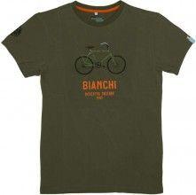 Bianchi MILITARY BIKE Shirt grün 1
