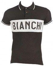 Bianchi EROICA - Vintage Poloshirt braun 1