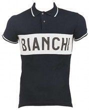 Bianchi EROICA - Vintage Poloshirt dunkelblau 1