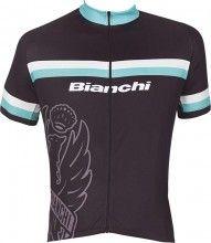 Bianchi Sport Line Kurzarmtrikot schwarz 1