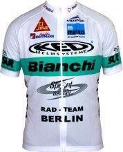 BIANCHI BERLIN 2017 Limited Edition Kurzarmtrikot (langer Reißverschluss) - Nalini Radsport-Profi-Team