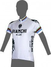 Bianchi Milano EDDI 1 - Damen-Kurzarmtrikot weiß - Campione (E16-4020)