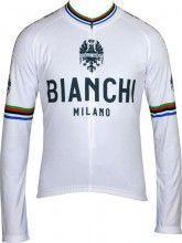 Bianchi Milano Langarmtrikot LEGGENDA wei� 1