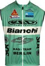 BIANCHI BERLIN 2017 Wind-Weste - Nalini Radsport-Profi-Team