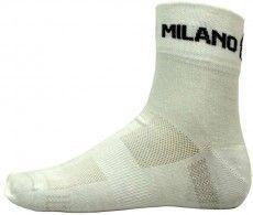 Bianchi Milano Socke ASFALTO weiß 1
