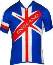 Biemme National New Radsport-Kurzarmtrikot England