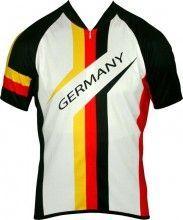 Biemme National New Radsport-Kurzarmtrikot Deutschland
