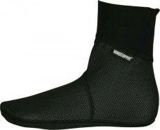 Biemme - Radsport-Windstopper-Socken TORNADO schwarz